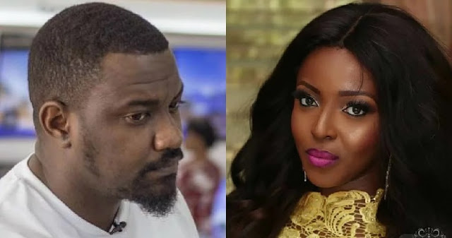 Yvonne Okoro and John Dumelo
