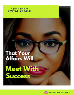 That Your Affairs Will Meet With Success