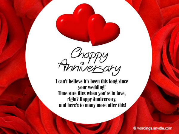 Happy Wedding Anniversary Wishes Messages For Couple 11