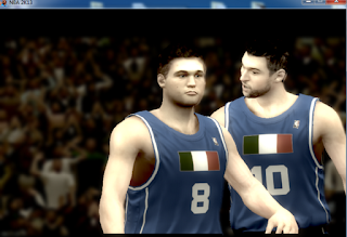 NBA 2K13 National Teams Mod - Italy