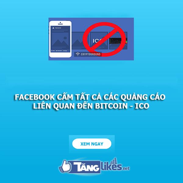 facebook cam quang cao lien quan den bitcoin