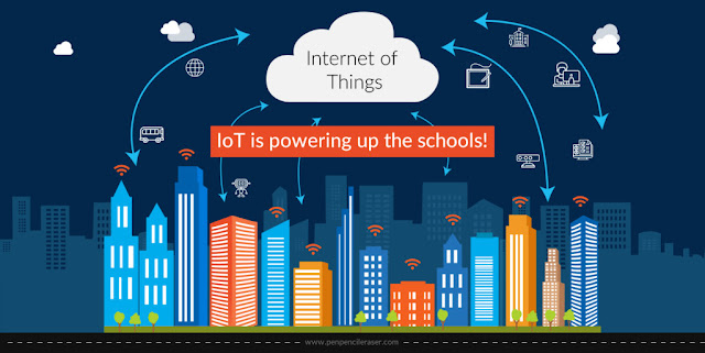 internet of things IoT powering up schools