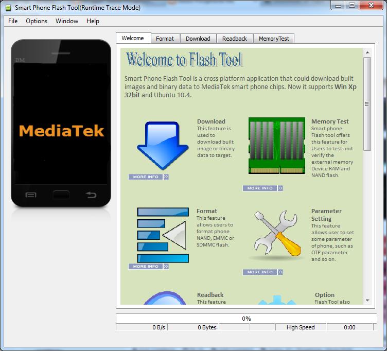 Download SP Flash Tool Terbaru V5.1352.01 (v3.1352.01