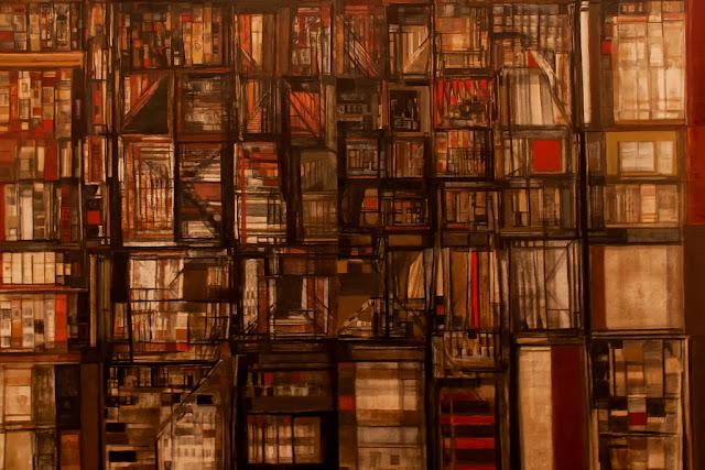 Biblioteca em Fogo, Maria Helena Vieira da Silva