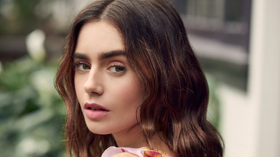 Lily Collins, Beautiful, 4K, #4.2620