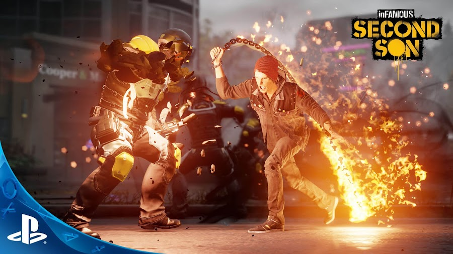 infamous second son ps4 plus playstation store