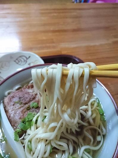 亀浜製麺所の麺の写真