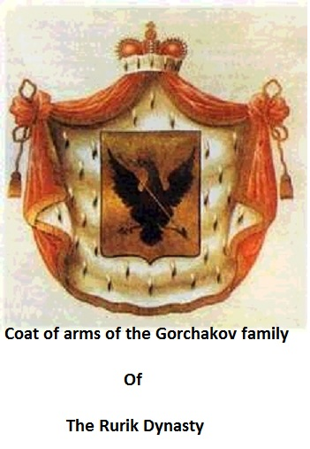 Coat of arms of the Gorchakov family