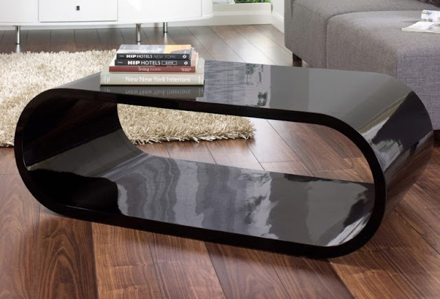 Modern Black Coffee Table Only for You