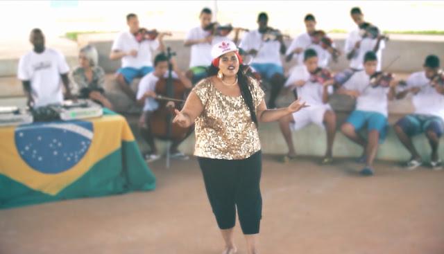 """Vera Verônika foca suas rimas nos problemas políticos e sociais do Brasil em """"Pátria Amada"""""""