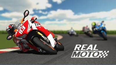 Sudah hingga di final pekan yang menyenangkan Download Real Moto v1.0.216 Mod Apk + Data (Game MotoGP For Android)