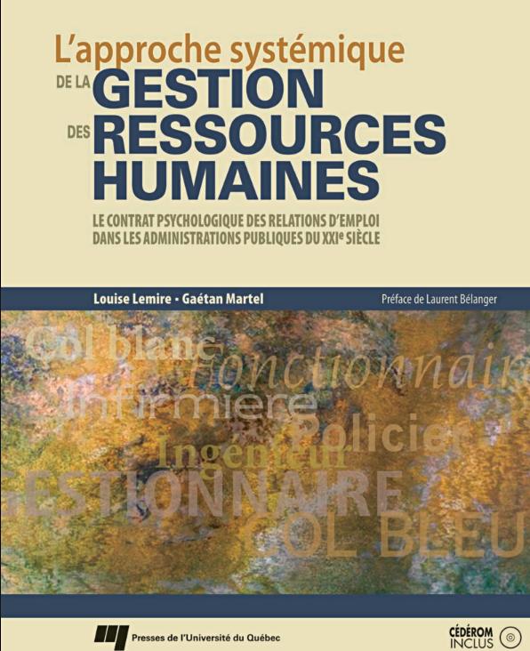 Livre de La Gestion des ressources humaines