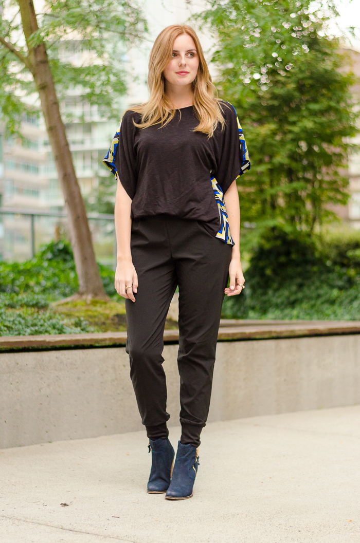 How to Style Slouchy Harem Pants