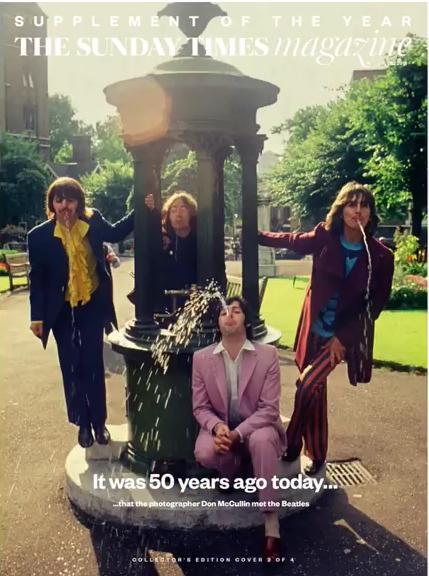 """The Beatles Polska: """"Szalone"""" wydanie niedzielnego Timesa w UK"""