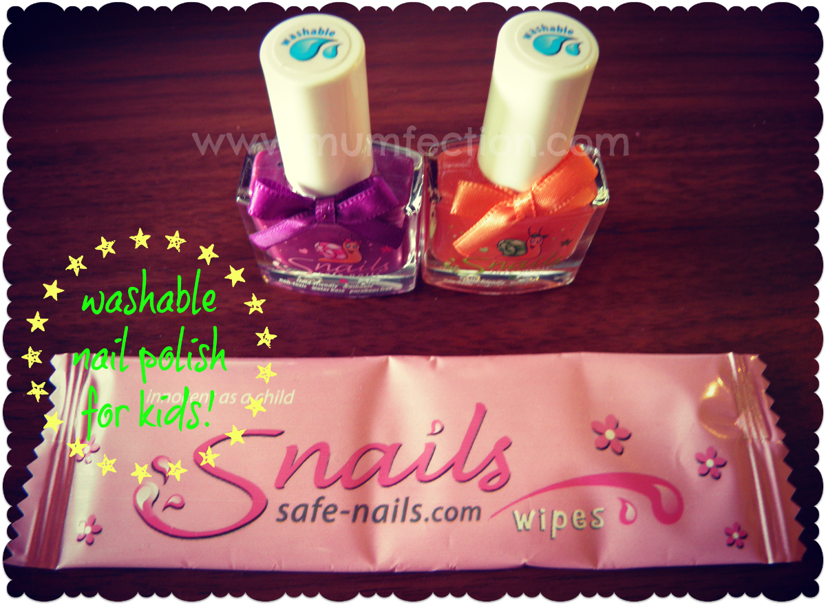 Snails Safe Nails; washable nail polish for kids! - Mumfection