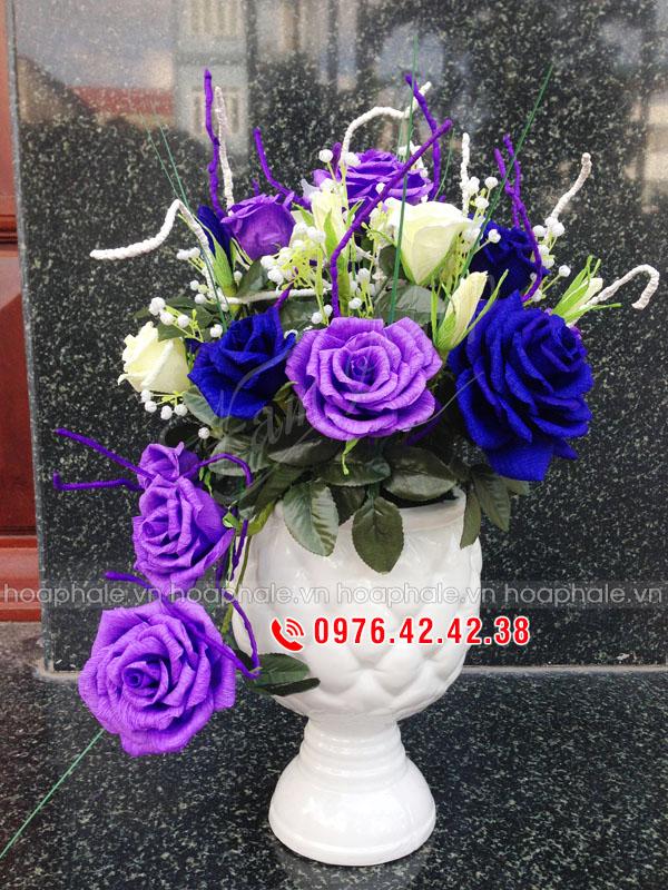 Hoa hồng giấy nhún | Hoa giấy nhún