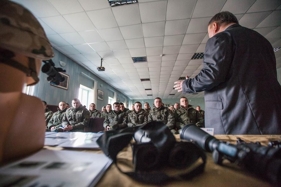 Польські компанії презентували свою продукцію Національній гвардії України