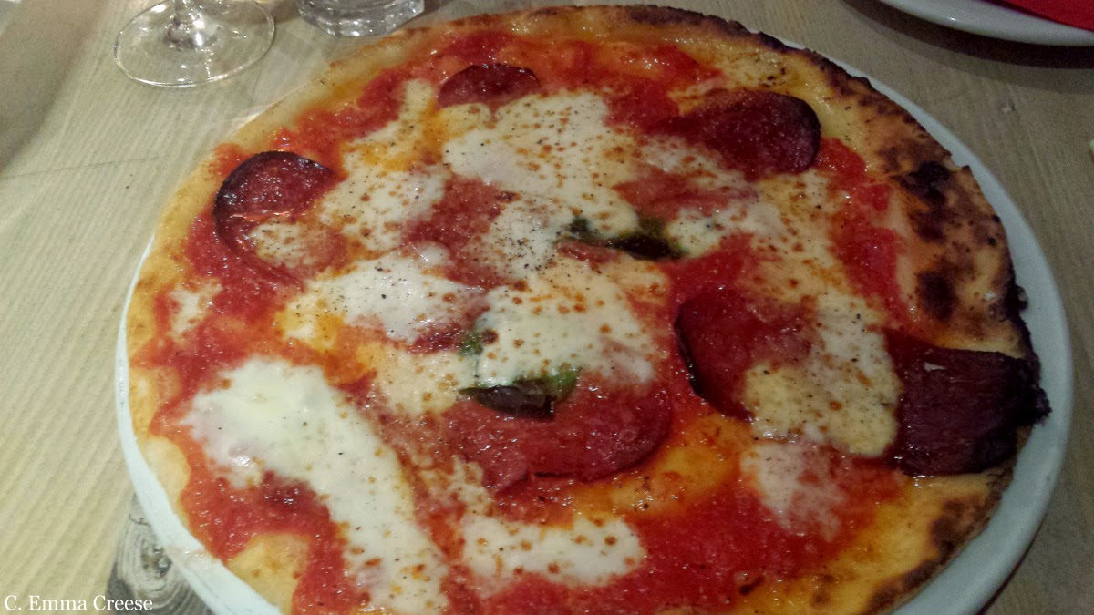 Rossopomodoro - woodfired gluten free pizzas in the middle of Soho & Covent Garden.