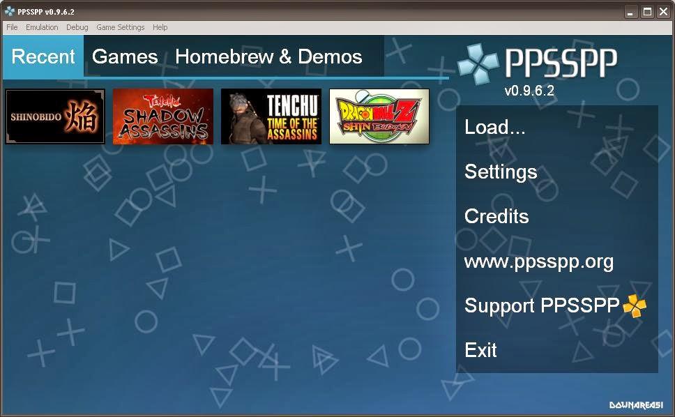 Emulator PSP untuk PC Lengkap dengan Cheat