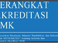 Perangkat Akreditasi Sekolah SMK Tahun 2017/2018