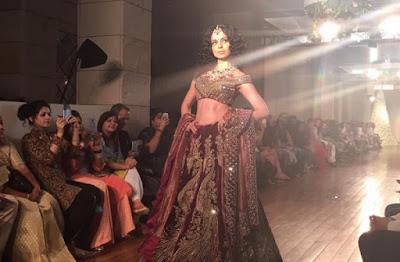 Kangana Ranaut, Showstopper, Designer, Manav Gangwani, India Couture Week, Wedding, Collection, Begum-e-Jannat