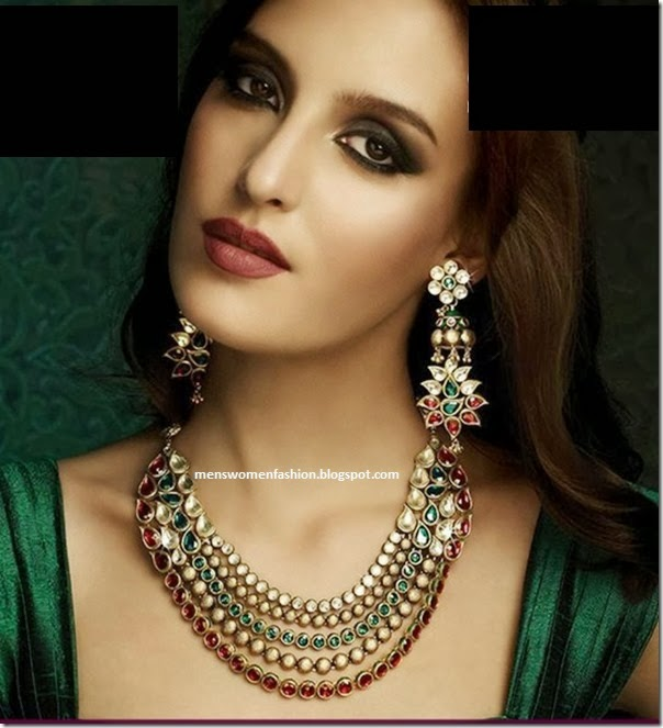 Fashion Jewellery Indian Style Bridal Wedding Jewelry Collection 71