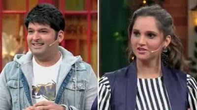 Do You Know Kapil Sharma Blushes on the Question of Sania Mirza during the Show