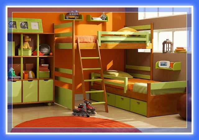 Decoraci n dormitorios juveniles con muebles de melamina for Diseno muebles melamina