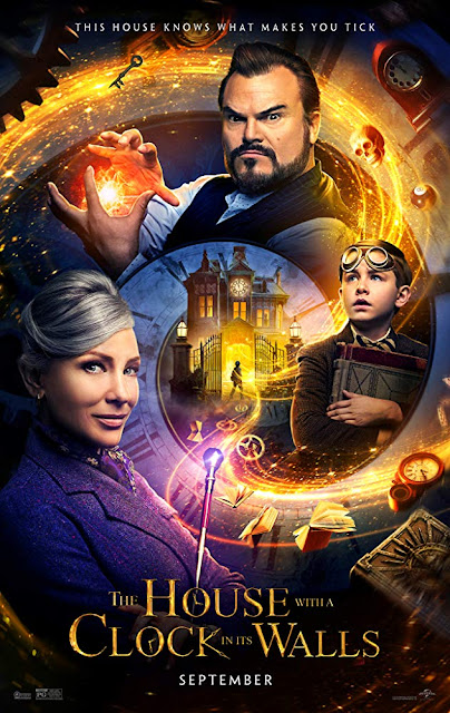 The House with a Clock in Its Walls 2018 movie poster