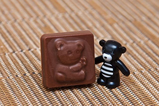Lego - Advent Calendar - Calendrier de l'Avent - Lego - Bear - Ours - Chocolat au lait