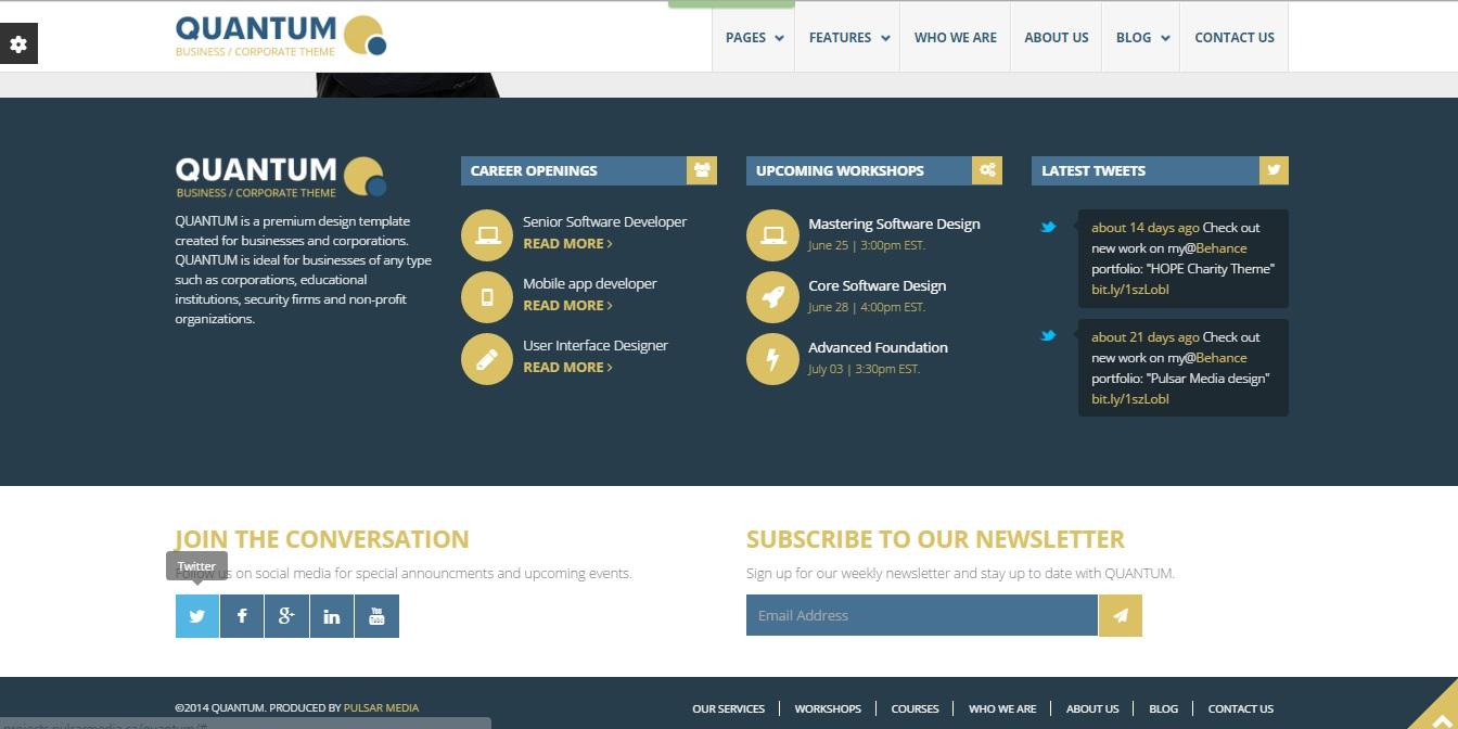 A Pie De Página (Web): Creación de la Web: Plantilla para Bootstrap