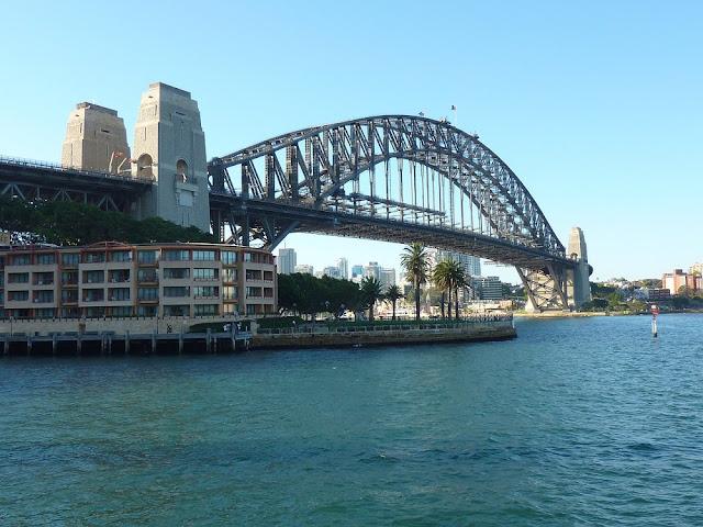 Park Hyatt Sydney and Sydney Harbour Bridge