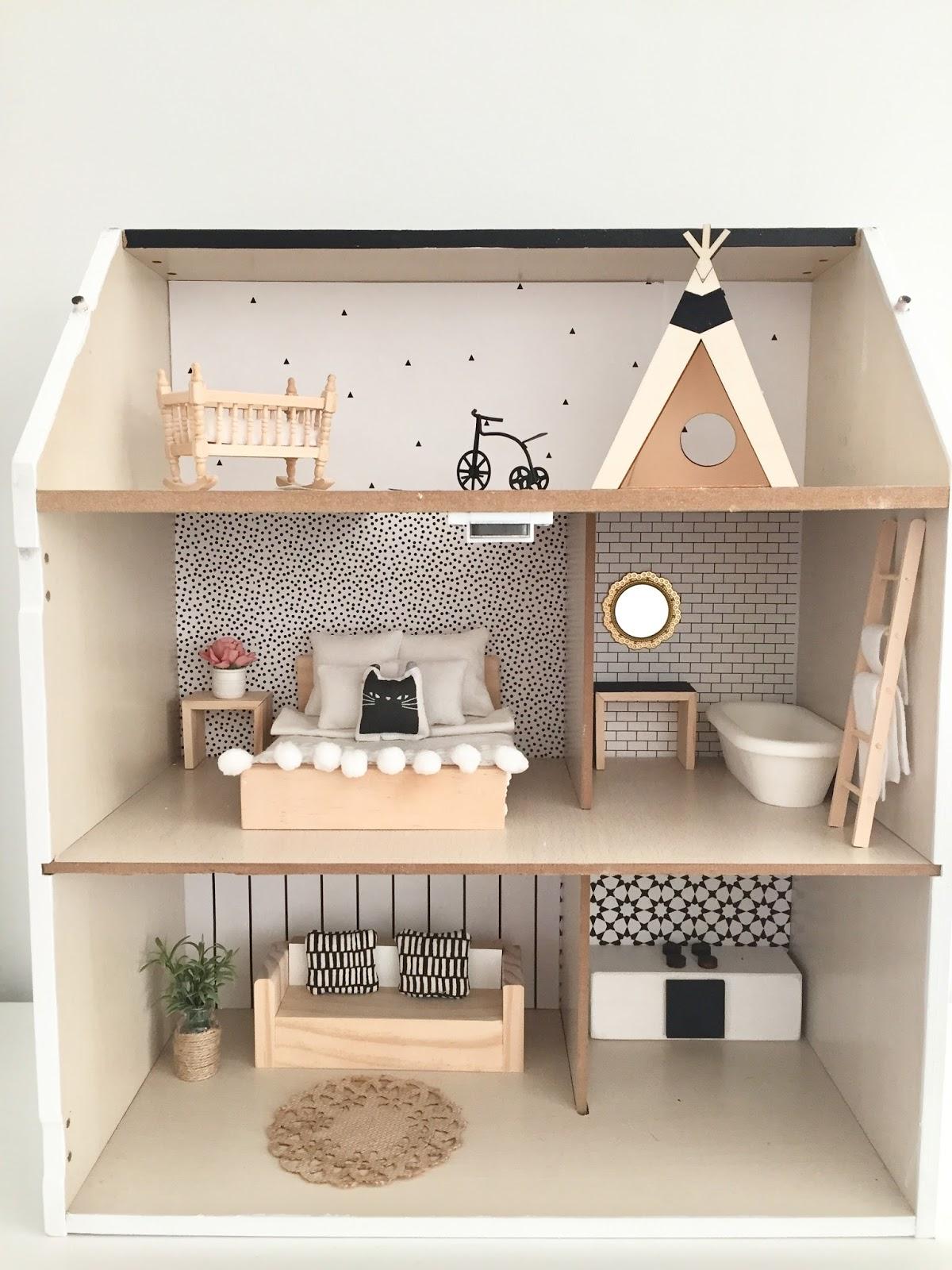 Modern Dollhouse Diy