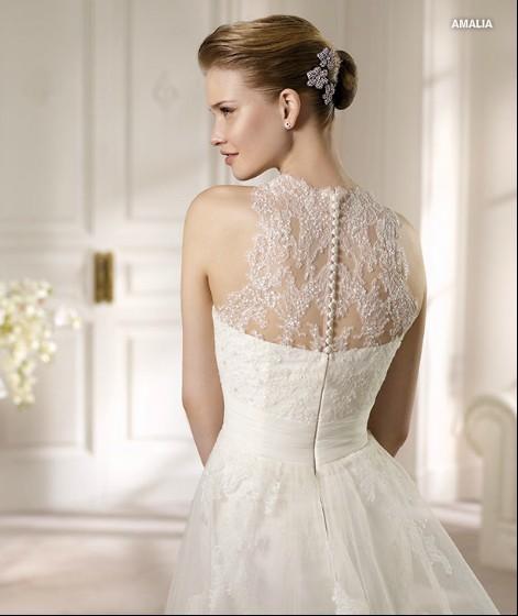 Brautkleider Mode 2013 Ein Glamour Spitze Brautkleid 2013 Für