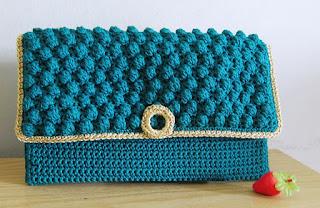 Dompet Rajut Cantik Untuk Pesta