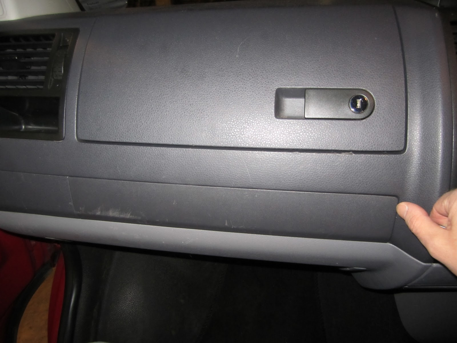 medium resolution of i decided to focus on the strip of trim that runs underneath the glovebox and the corresponding pieces along the dash its pretty easy to remove just stick