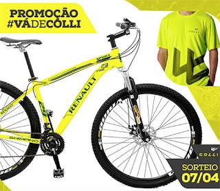 Participar da promoção Colli Bikes 2016