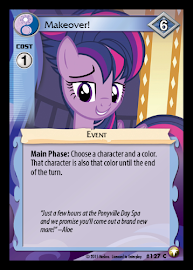 My Little Pony Makeover! Equestrian Odysseys CCG Card