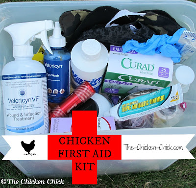 There is no way of knowing when a sick or injured chicken is going to need immediate, medical attention, so it is best to be prepared for the worst.