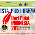 Press Release Puncak Perayaan Hari Puisi Indonesia 2018