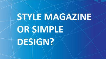 Pilih Template Style Magazine atau Simple Design? Buka Rahasiannya !