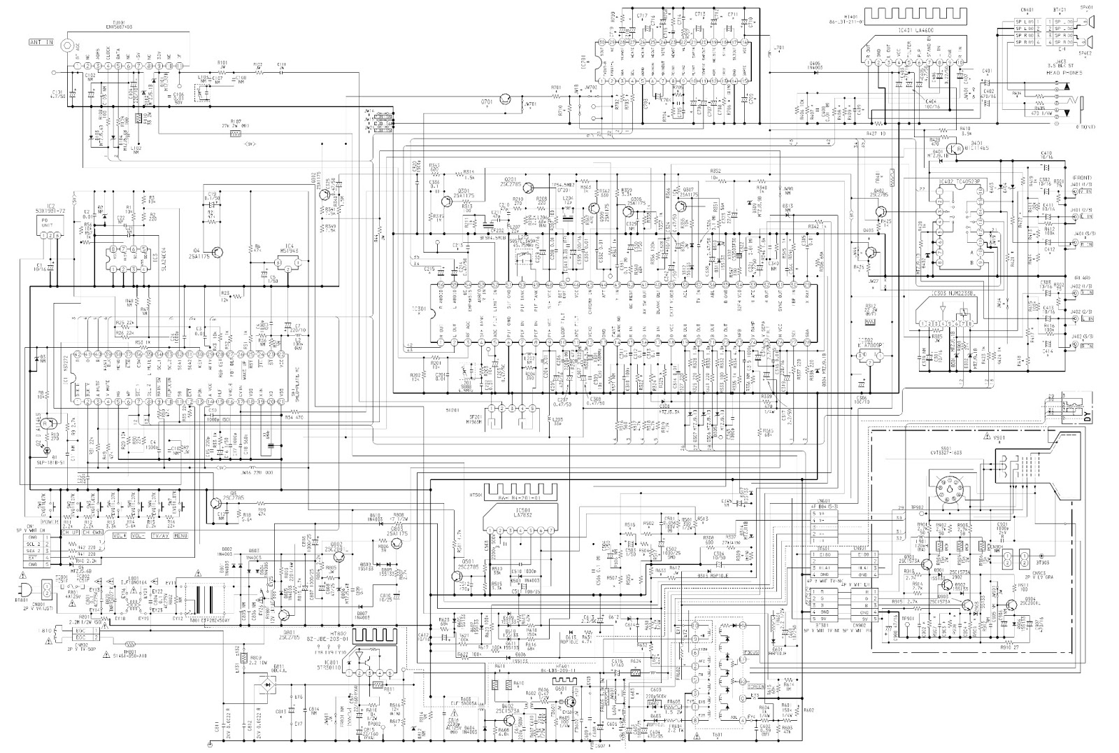 Toshiba Crt Tv Schematic Diagram, Toshiba, Get Free Image