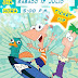 Tarjeta de Invitación de Cumpleaños estilo Ticket con diseño de Phineas y Ferb