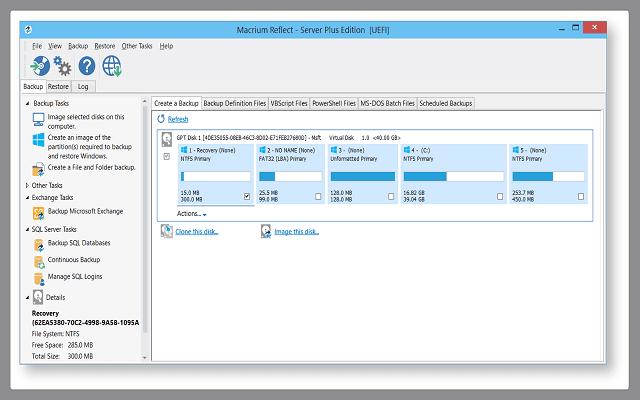 برنامج لإنشاء نسخة إحتياطية للويندوز والحفاظ على جميع بياناتك وملفاتك من الضياع