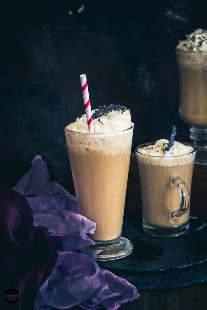 Lavender Frappuccino, a floral flavoured Frappuccino, perfect for the summer, an instant recipe for when that craving hits.