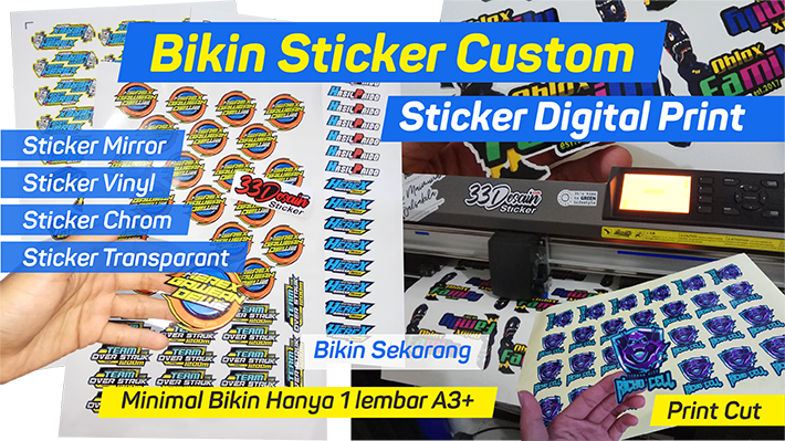 Yuk... Bikin Sticker Custom