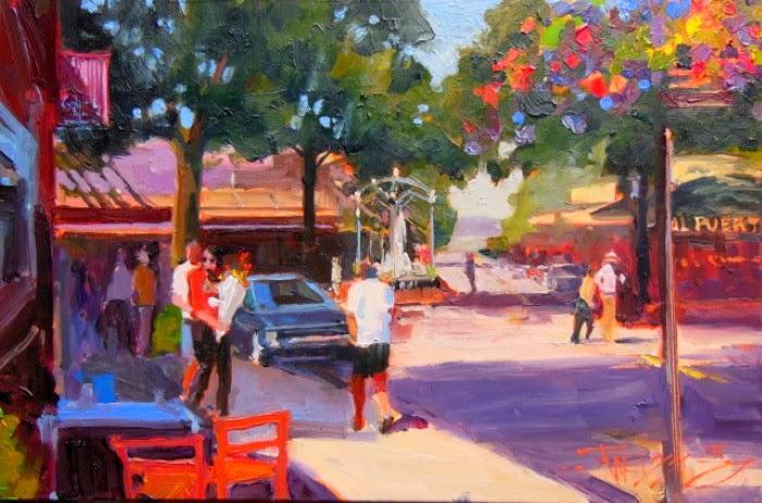 Американский художник. Robin Weiss