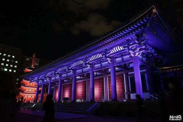 東長寺本堂、福岡