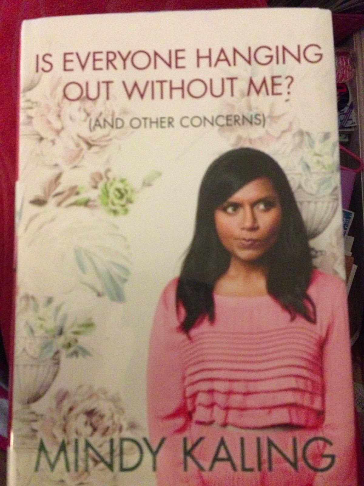 Mama Fashionista Mindy Kaling Is Everyone Hanging Out Without Me And Other Concerns A Be Chic Literate Review
