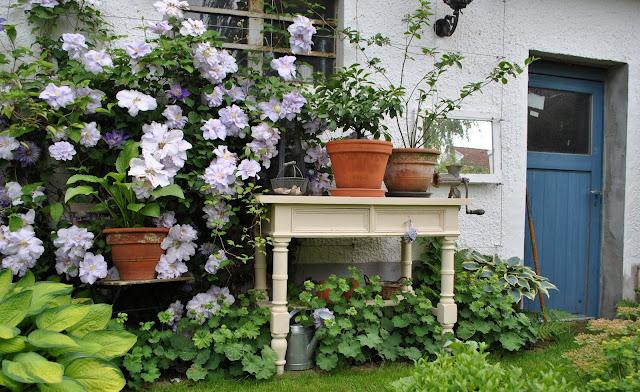 Alt und schön, Deko für den Garten